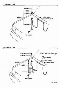 Toyota T100 Accessory Power Relay  Antenna  Electrical