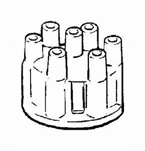 Dodge Ram 1500 Van Distributor Cap  Liter  Cylinder