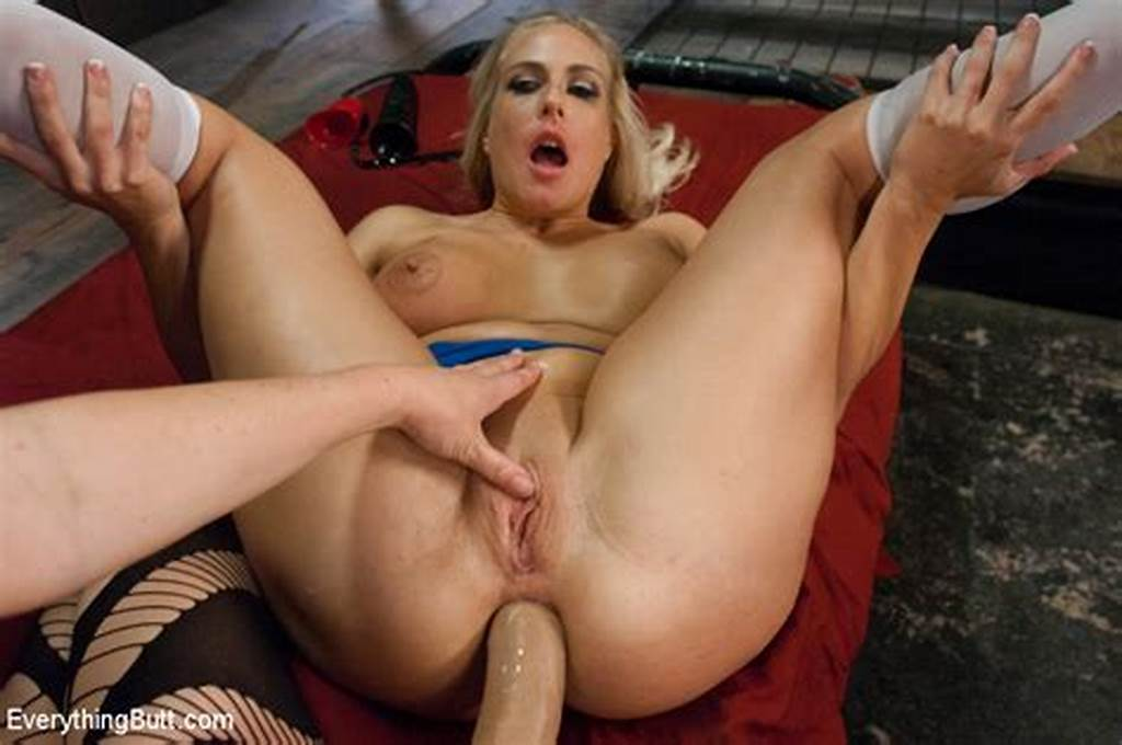 #Horny #Blonde #Krissy #Lynn #Gets #Her #Used #Wet #Asshole #Fucked