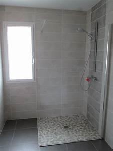 awesome modele salle de bain avec douche italienne 2 With modeles de salle de bains avec douche