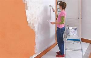 Comment Enlever Le Papier Peint : comment enlever du papier peint 1 peindre sur du papier ~ Dailycaller-alerts.com Idées de Décoration