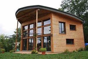 2010 maison a poteaux poutres bois et paille a saint With maison bois et paille