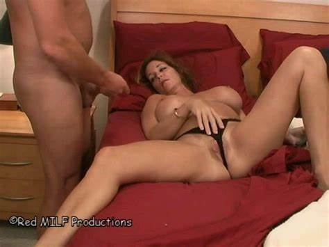 Violet Hairy Stepmom Jerking In Corset Hooker Caught Boys Playtime Off 13350