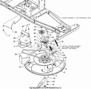 Mtd 13b326jc758  2016  Parts Diagram For Deck