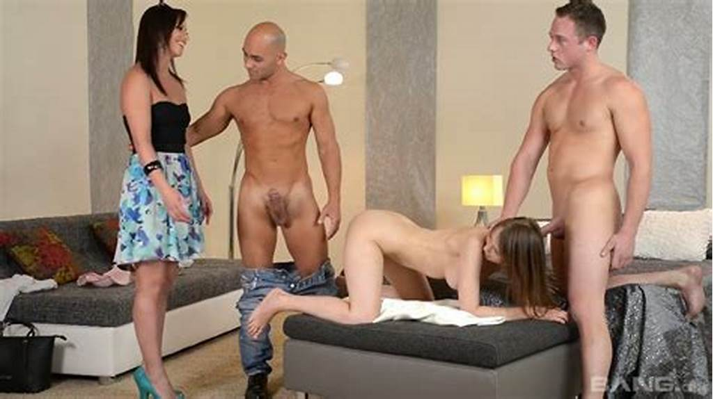 #Two #Beautiful #Couples #Switch #Their #Partners #And #Fuck #In
