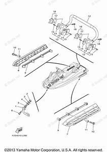Yamaha Waverunner Parts 2014 Oem Parts Diagram For Hull