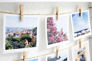 Fotos Aufhängen Schnur : gast beitrag diy polaroid collage sch n bei dir by depot ~ Watch28wear.com Haus und Dekorationen