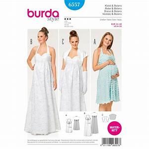 Patron burda 2017 patron robe de grossesse robe de for Patron de robe de mariée