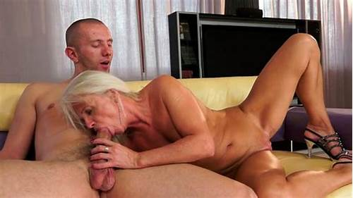 Slender Mina Wants To Fucks Roughly #Horny #Granny #Is #Fucking #Passionately #On #A #Couch #In #Old