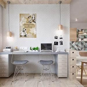les meilleures idees deco bureau vues sur les reseaux With beautiful comment faire des couleurs 17 une decoration en bois pour le mur