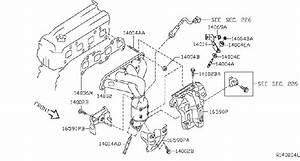 Nissan Altima Exhaust Manifold Heat Shield  Intake