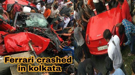Kolkata ferrari crash tamal ghosal inerview on zee 24 ghanta. Ferrari crashed in kolkata - YouTube