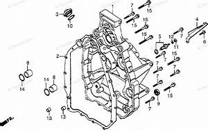 Honda Motorcycle 1979 Oem Parts Diagram For Rear Cover