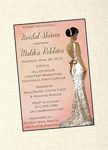elegant african american bridal shower invitation With wedding invitations zambia