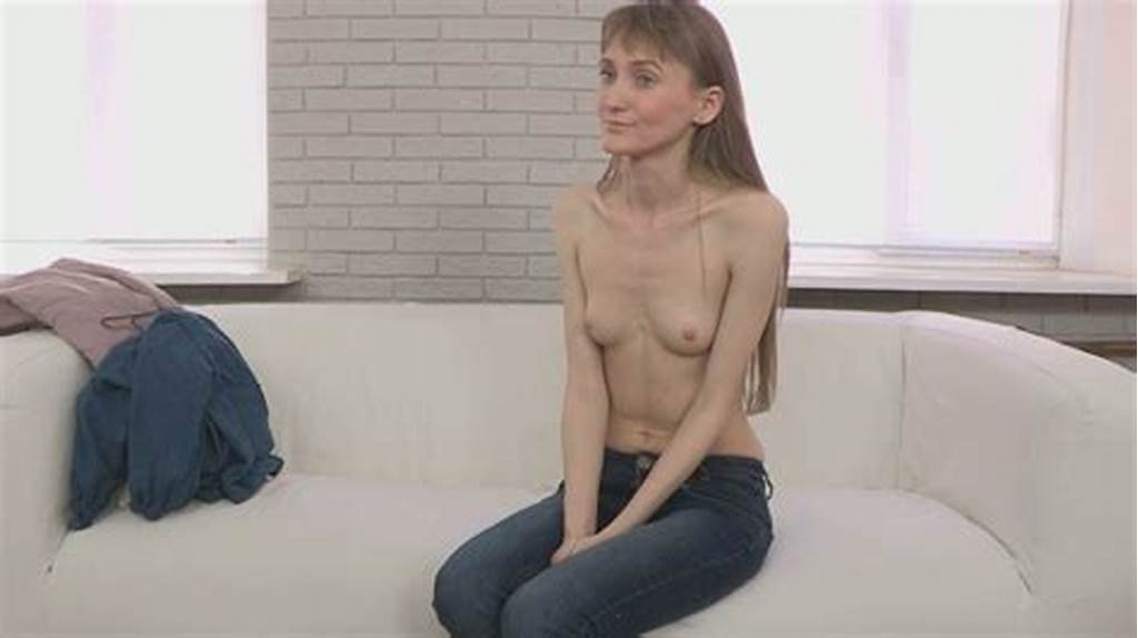 #Skinny #Girl #With #Long #Legs #Gets #Naked #On #The #Casting