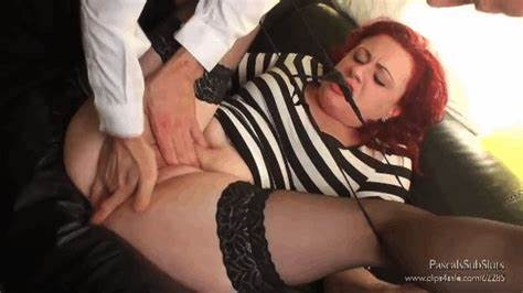 Miss Mistress In Pain For Her Very Tight Cunt