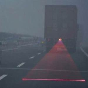 1pcs Cars Led Car Laser Fog Light Rear Anti