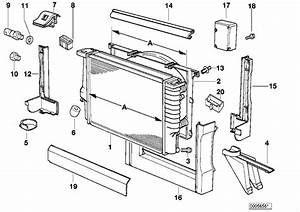 Bmw 740il Drain Plug Radiator  M10  Engine  Cooling  Frame