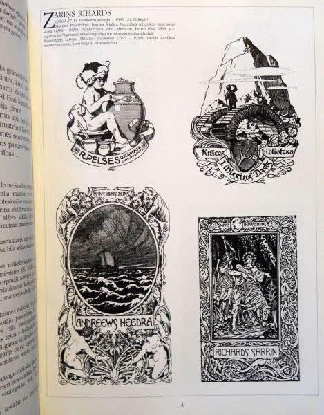 Item #451 - Ex Libris - Latviešu grāmatzīmes simtgade ...