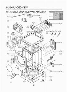 Lg Wm2487hrma Parts List And Diagram  00
