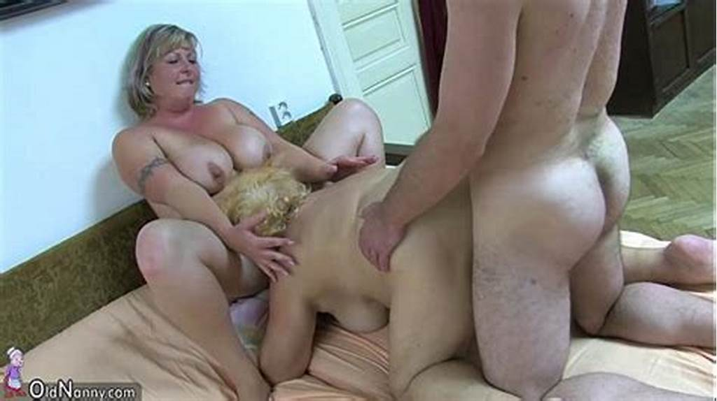 #Oldnanny #Chubby #Granny #Bathed #And #Then #Has #Threesome