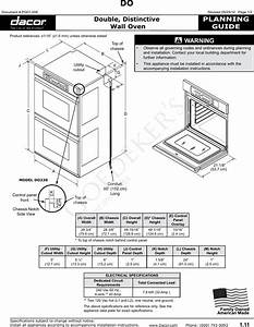 Dacor Double Wall Oven Manual  U2013 Wall Design Ideas