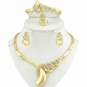 parure de bijoux 4 pieces en plaque or jaune achat With parure de bijoux en or