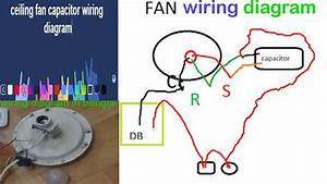 Wiring Diagram For Ceiling Fan Capacitor