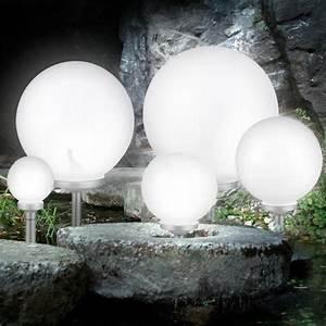 Lumiere Jardin Solaire : set de 3 luminaires ext rieurs solaires led clairage ~ Premium-room.com Idées de Décoration