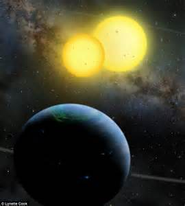 Star Wars-style planets with TWO SUNS are more capable of ...