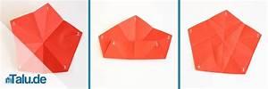 Origami Stern 5 Zacken : papiersterne basteln vorlagen und anleitungen zum falten ~ Watch28wear.com Haus und Dekorationen