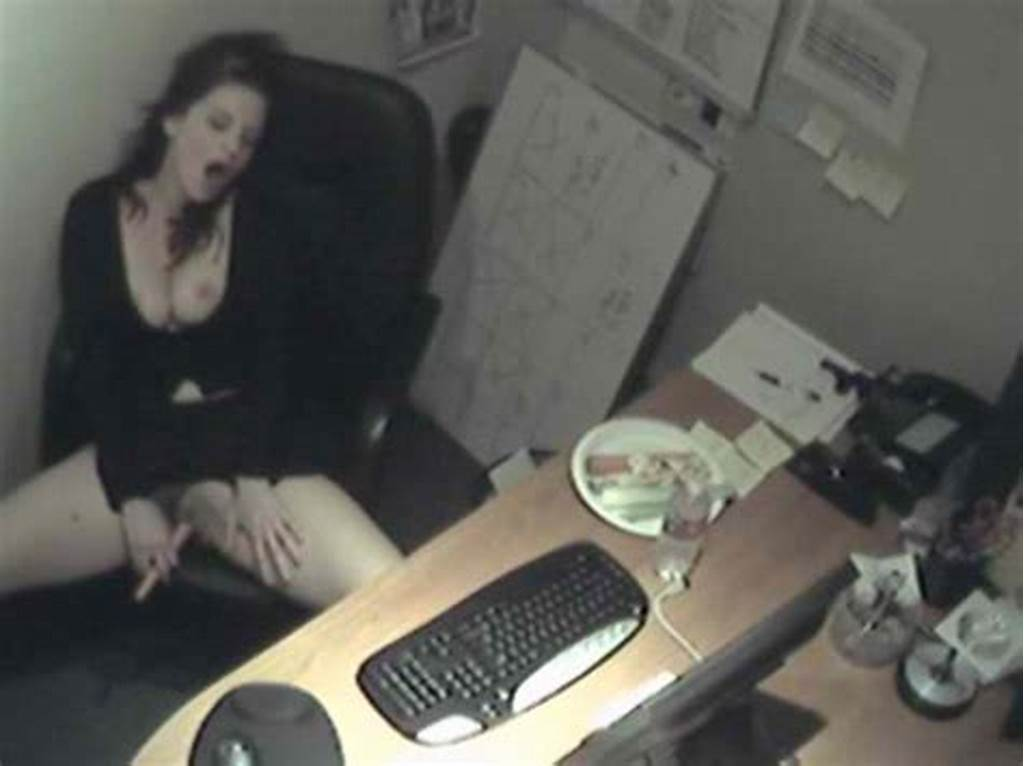 #Spying #On #Secretary #At #Work