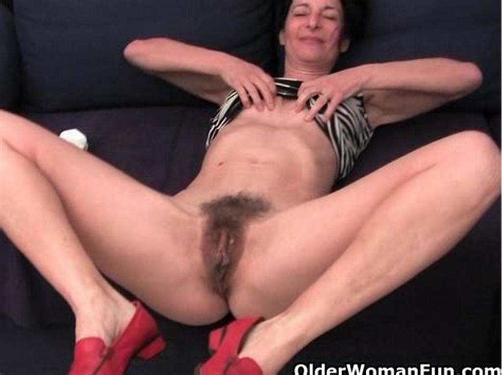 #Hairy #Granny #Has #A #Wet #Spot #In #Her #Panties