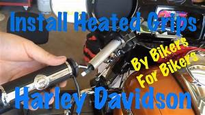 Install Harley Brand Heated Grips On A Harley Davidson