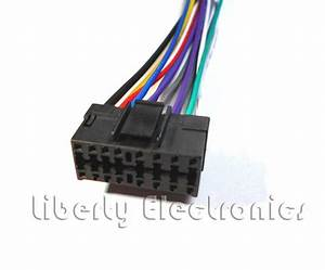New Car Stereo Wire Harness For Jvc Kd  Kd  Kd