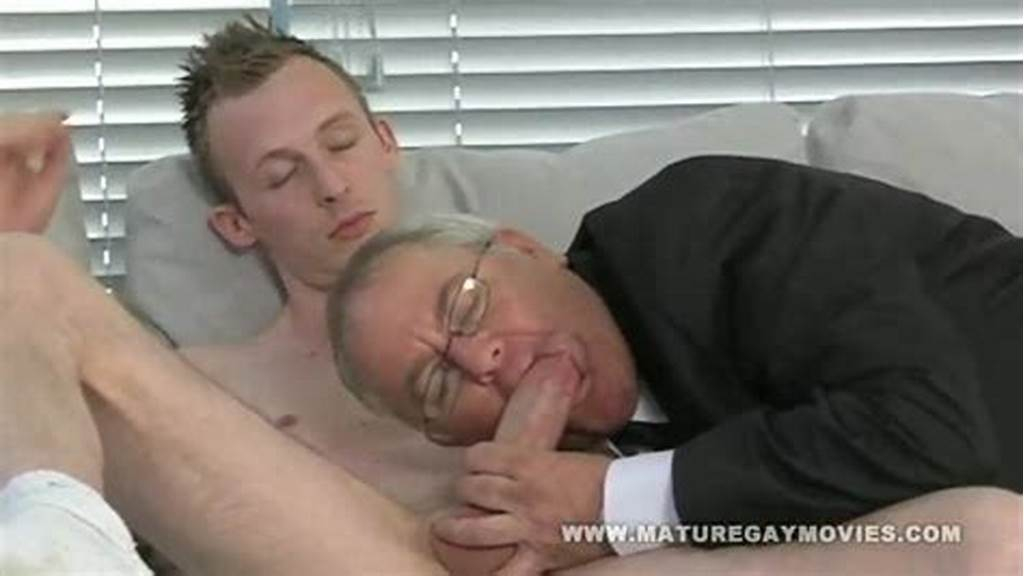 #Chubby #Daddy #Gets #His #Ass #Stuffed #With #Young #Cock