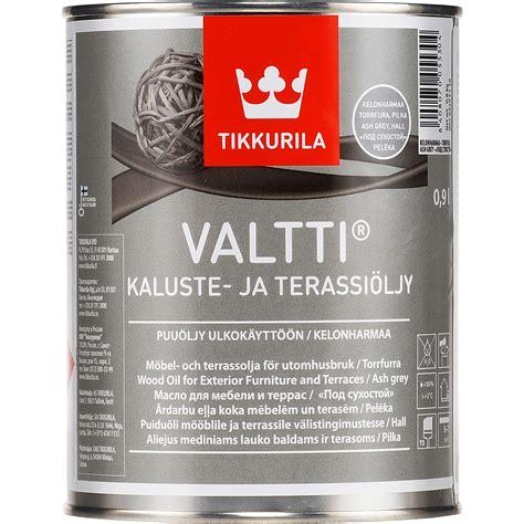 Tikkurila Valtti Kaluste, gray Terrace Oil