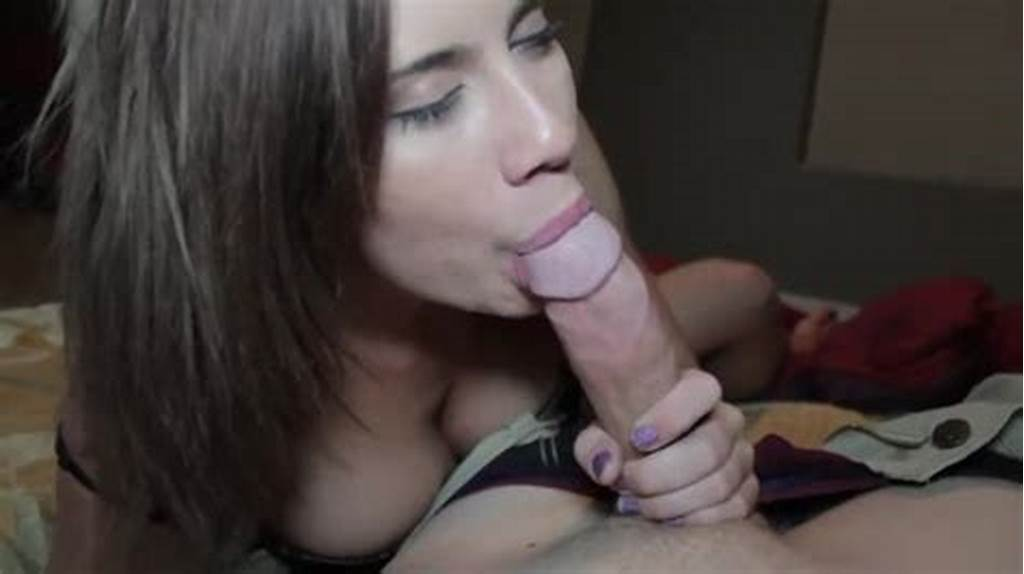 #Beautiful #Girlfriend #Gives #A #Slow #Sexy #Blowjob