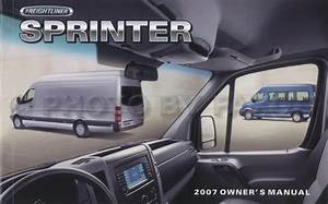 2007 Freightliner Sprinter Owner U0026 39 S Manual Original 2500 3500