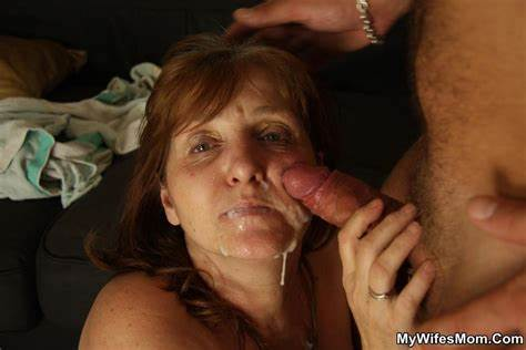 Granny Mouth Pounds Cunt Oral Facial Cumshot