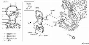Nissan Quest Cover  Timing Chain   Front
