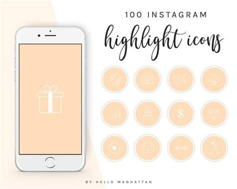 How to make custom instagram highlight covers what is an instagram highlight cover? 100 Instagram Story Highlight Covers Peach Instagram Story Highlight Icons Instagram Story ...