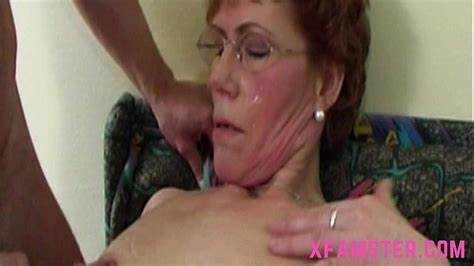 Enjoys Dick Babyface Granny