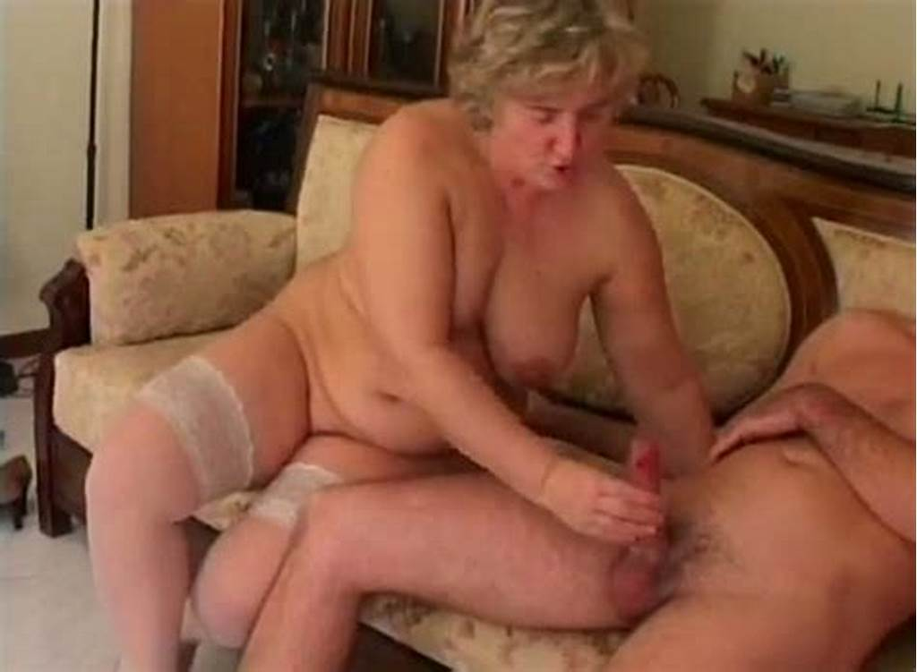 #Granny #Loved #To #Jerk #Off #Her #Friend'S #Alrge #And #Thick #Cock