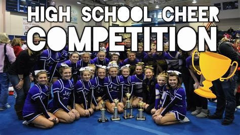 maggies high school cheerleading competition youtube