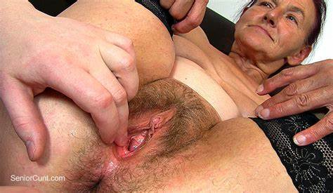 Clit Drilling With Juicy Ugly seniorcunt