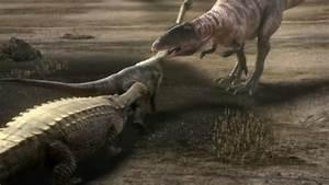 Image - Carcharodontosaurus-sarcosuchus.png - Planet ...