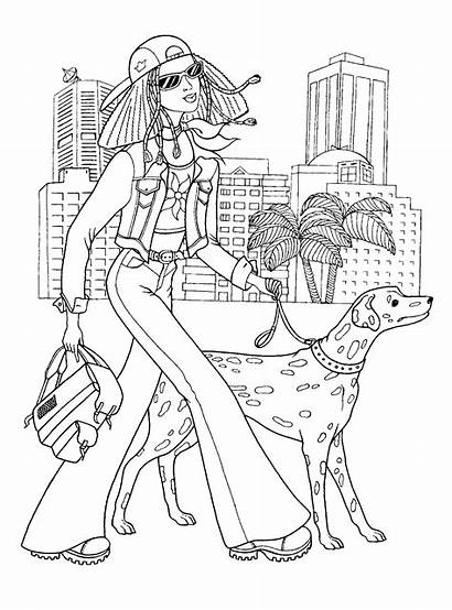 Coloring Pages Teens Teenagers Awesome