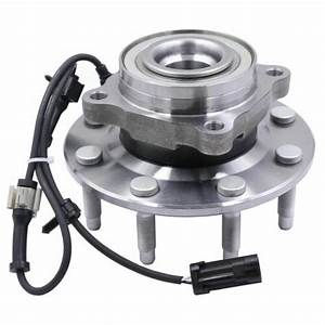 2 Front Wheel Bearing  U0026hub Assembly For Chevy Silverado