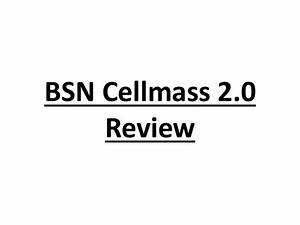 Bsn Cellmass 2 0 Review